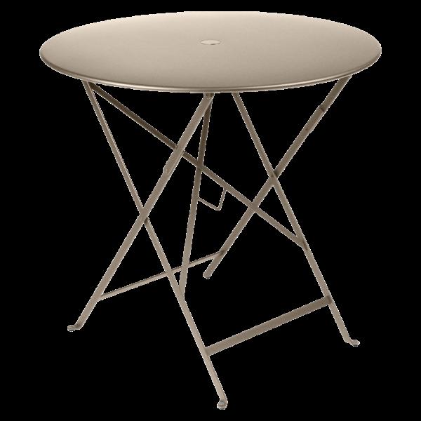 Tisch Ø 77 cm Bistro Muskat