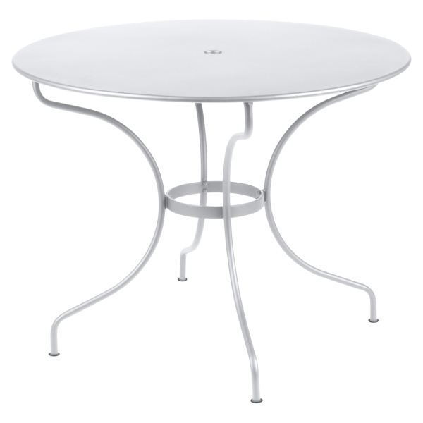 Tisch Ø 96 cm Opéra Baumwollweiß