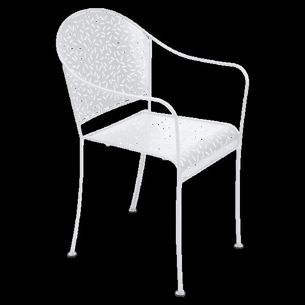 Sessel Rendez-Vous Baumwollweiß