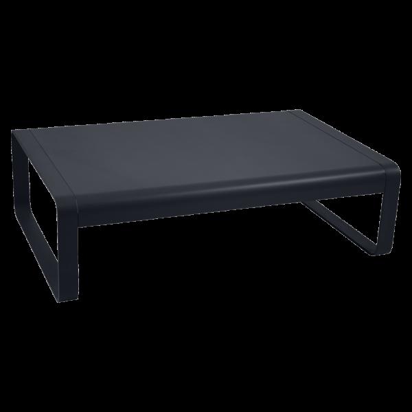 Niedriger Tisch Bellevie Anthrazit