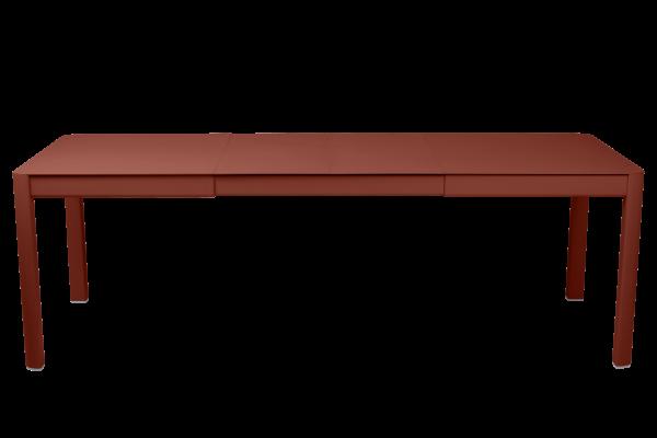 Tisch 149/249 x 100 cm Ribambelle Ockerrot