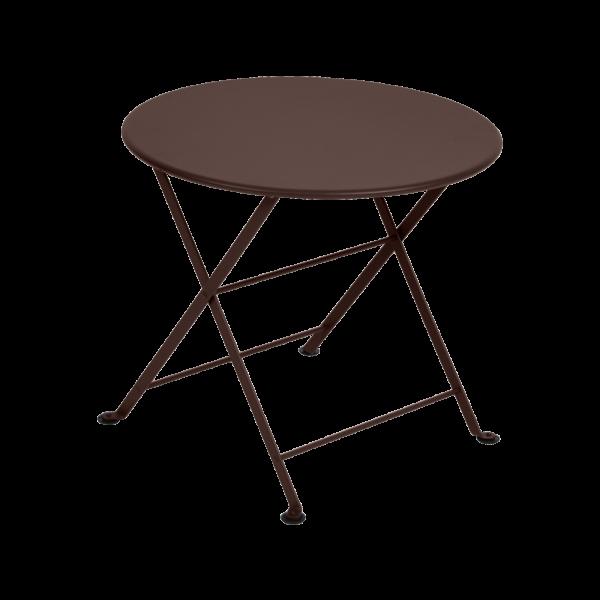 Niedriger Tisch Ø 55 cm Tom Pouce Rost