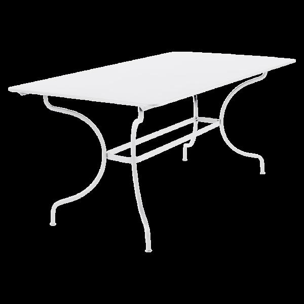 Tisch 160 x 90 cm Manosque Baumwollweiß