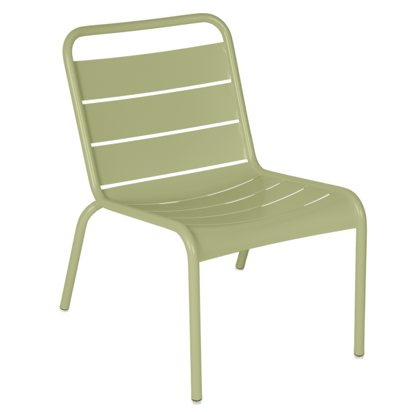 Luxembourg Lounge Stuhl Lindgrün