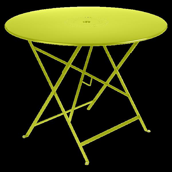 Tisch Ø 96 cm Floréal Eisenkraut