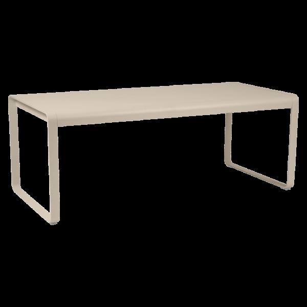 Tisch 196 x 90 cm Bellevie Muskat