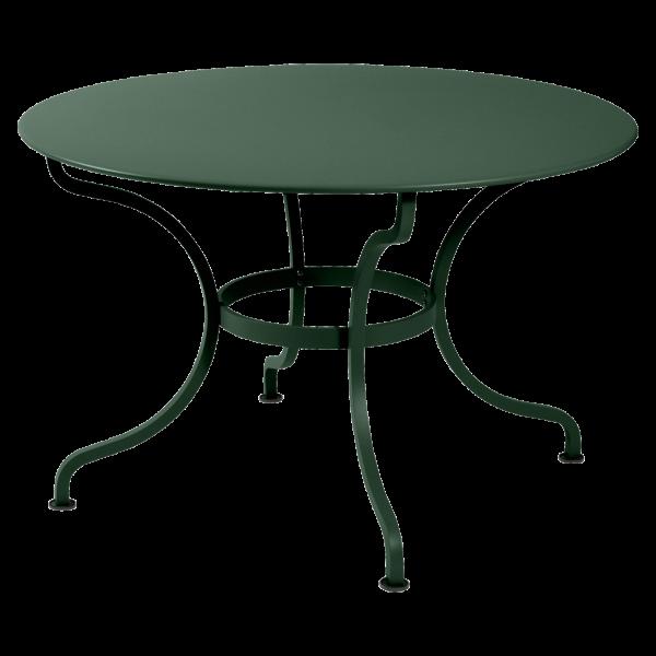 Tisch Ø 117 cm Romane Zederngrün