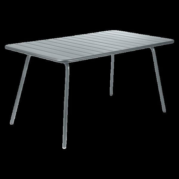 Tisch 143 x 80 cm Luxembourg Gewittergrau