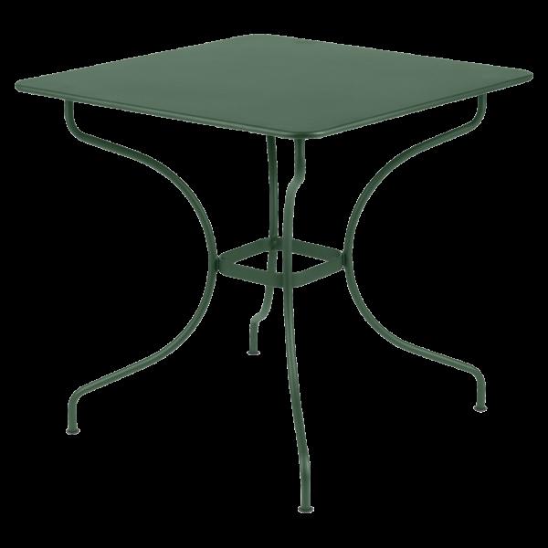Tisch 77 x 77 cm Opéra Zederngrün