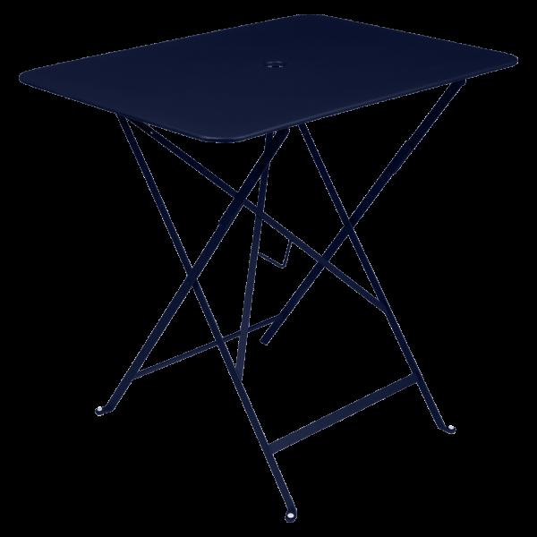 Tisch 77 x 57 cm Bistro Abyssblau