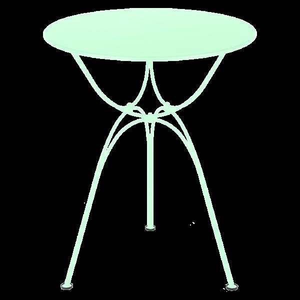 Airloop Tisch Ø 60 cm Opalgrün
