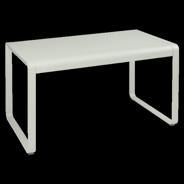 Bellevie Tisch, 140 x 80 cm Lehmgrau