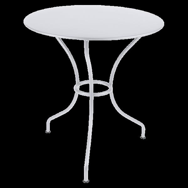Tisch Ø 67 cm Opéra Baumwollweiß