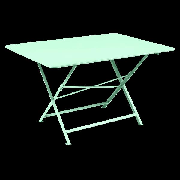 Tisch 128 x 90 cm Cargo Opalgrün