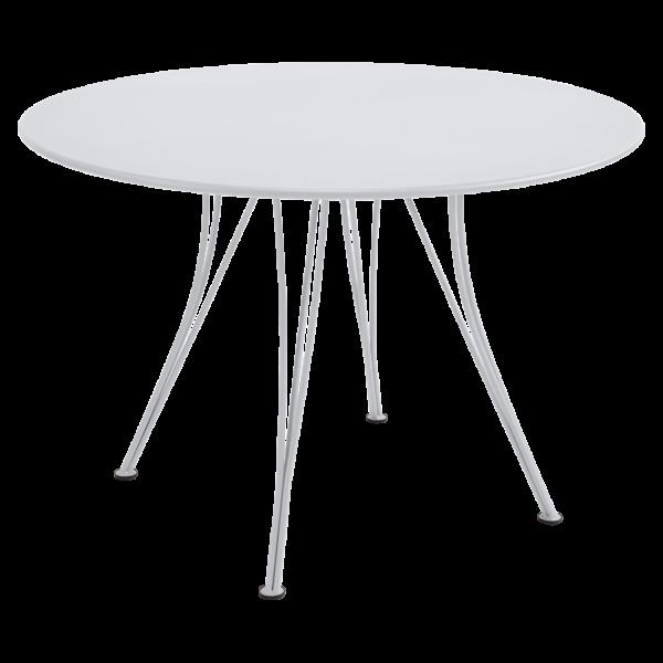 Tisch Ø 110 cm Rendez-Vous Baumwollweiß