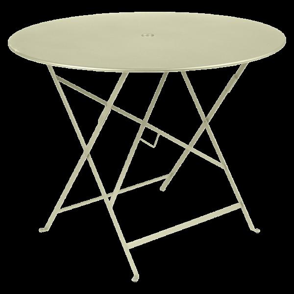 Tisch Ø 96 cm Bistro Lindgrün