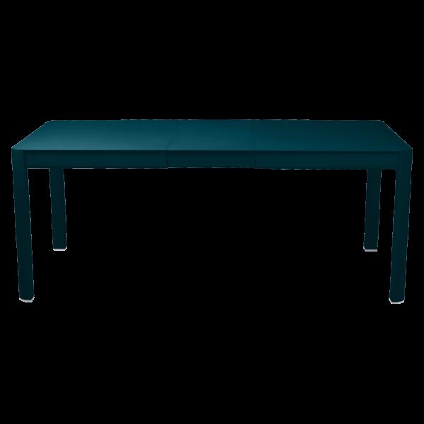 Tisch 149/191 x 100 cm Ribambelle Acapulcoblau