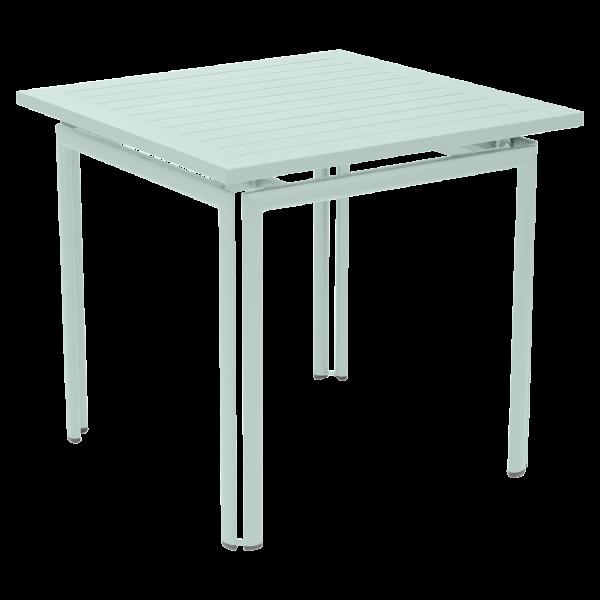Tisch 80 x 80 cm Costa Gletscherminze