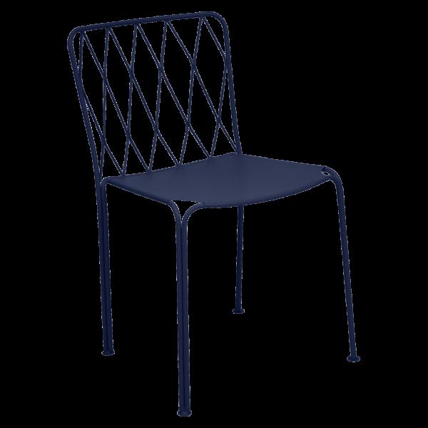 Stuhl Kintbury Abyssblau