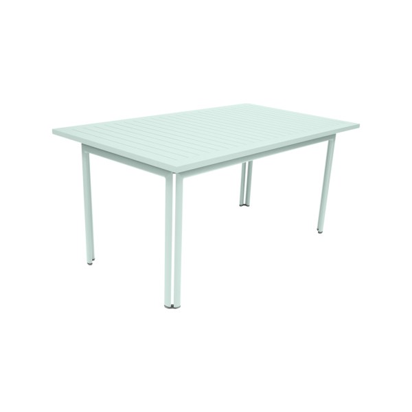Tisch 160 x 80 cm Costa Gletscherminze
