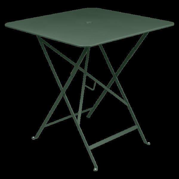 Tisch 71 x 71 cm Bistro Zederngrün
